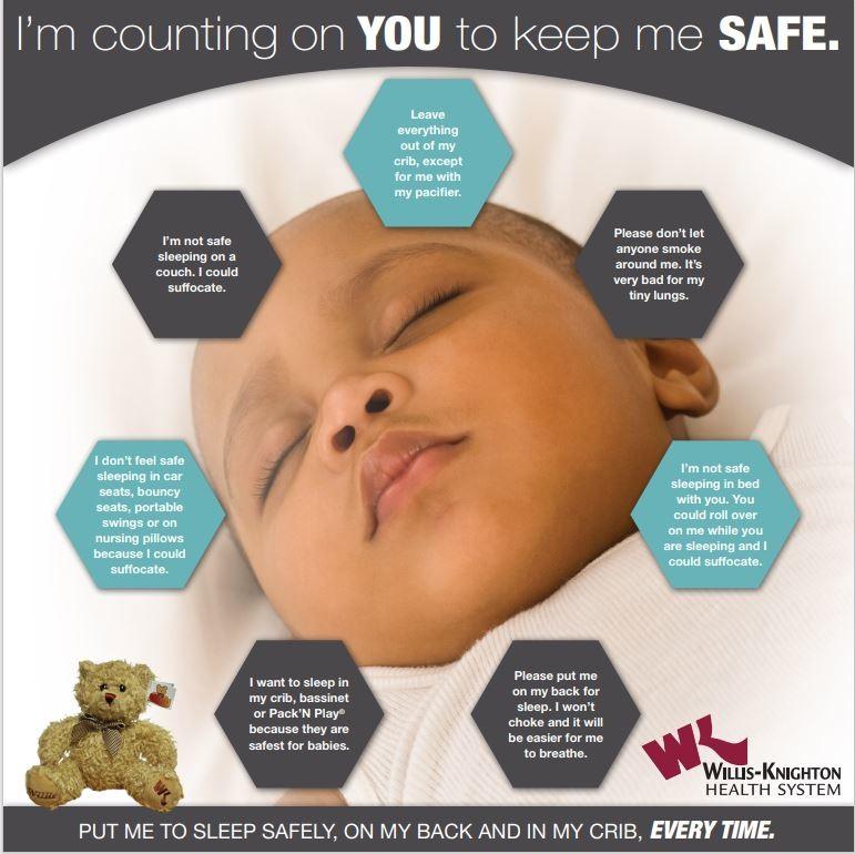 Safe Sleep Poster