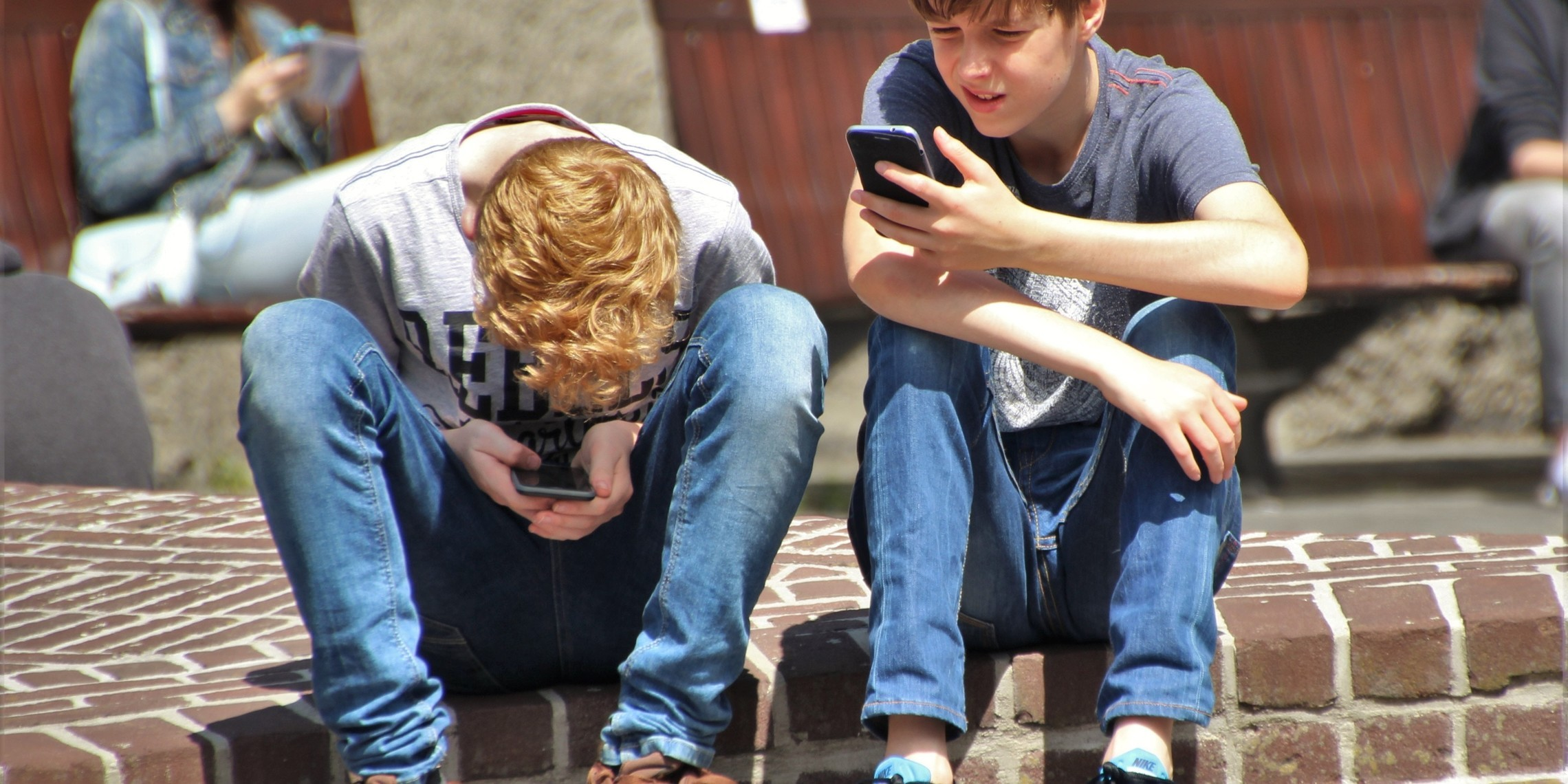 Boys Cellphones Children 159395